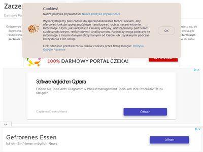 Serwis z ogłoszeniami - zaczepka.net