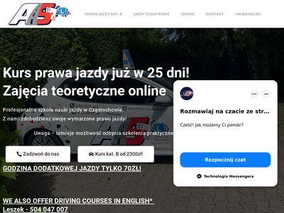 Ośrodek Szkolenia Kierowców AS