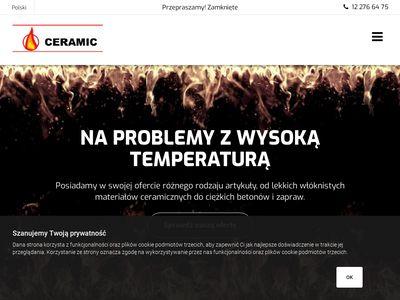 Ceramic.com.pl | Materiały ogniotrwałe