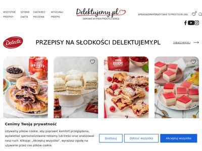 Przepisy na desery | Delektujemy.pl