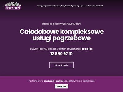 Zakład pogrzebowy Epitafium - kremacje zwłok Kraków