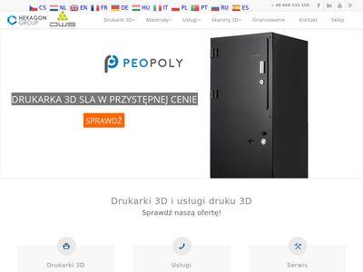 HexagonGroup.pl - Drukarki 3D