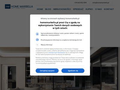 Home Marbella nieruchomości w Hiszpanii
