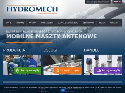 HYDROMECH - przedsiębiorstwo hydrauliki siłowej