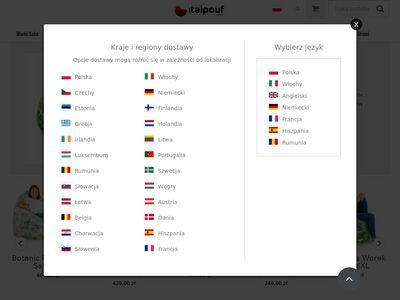 Pufy i worki sako Italpouf.pl