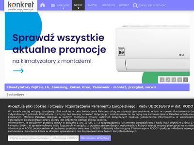 Konkret Klimatyzacja Kraków - Montaż klimatyzacji