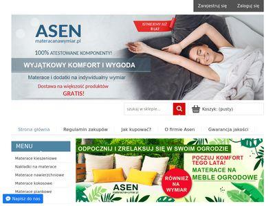 Wiessen - materace na wymiar