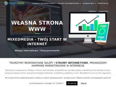 MIXEDMEDIA.PL - Projektowanie witryn internetowych