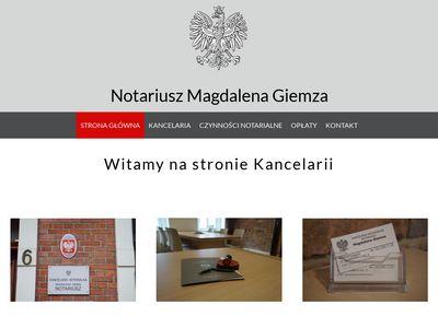 Notariusz-Giemza.pl - Dobry notariusz Katowice