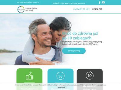 Rehabilitacja ARPwave Warszawa - leczenie naciągniętego mięśnia