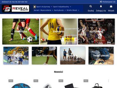 Revealsport.pl- Importer i dystrybutor sprzętu sportowego.