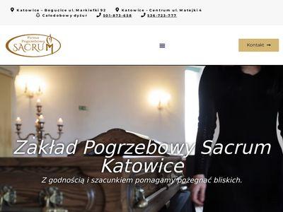 Sacrum - dom pogrzebowy Katowice