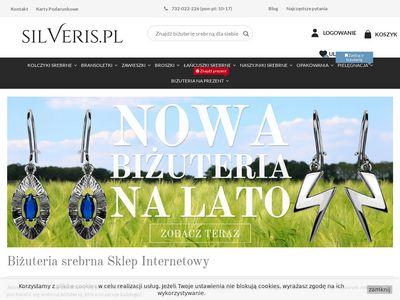 Polska biżuteria srebrna - silveris.pl