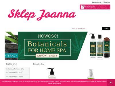 SKLEP JOANNA – kosmetyki do ciała