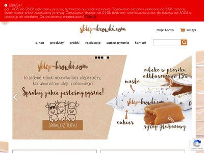 Sklep-krowki cukierki z logo firmy