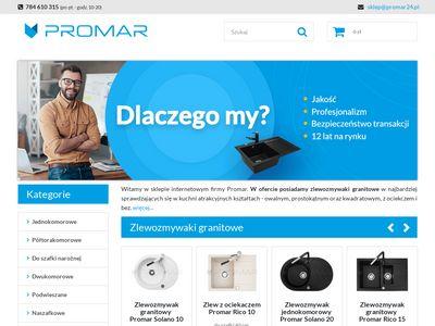 Sklep-Promar24.pl - Zlewozmywaki granitowe