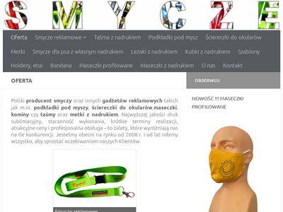 """Firma,, Kszimmex S.C""""- smycze reklamowe"""