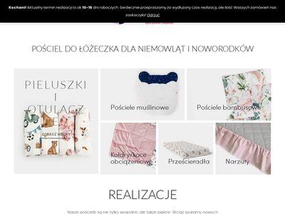 Pościel dla niemowląt - szwalniasnow.pl