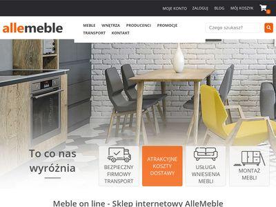 Allemeble.com - tanie meble kuchenne