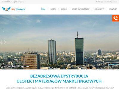 BTL-COMPLEX - Roznoszenie ulotek Gdynia