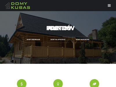 Domy energooszczędne drewniane producent - Domy-Kubas.pl