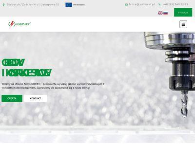Skrzynki i obudowy na zamówienie - jobimet.pl