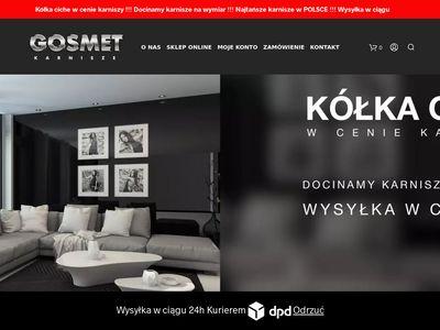 Www.karnisze-gosmet.pl | Sklep Internetowy z Karniszami