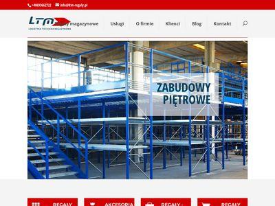 LTM Tomasz Pajer Sp. J. - regały magazynowe