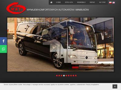Wynajem minibusów Kraków – Mat Transport Osobowy