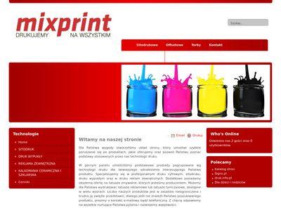 Tatuaże tymczasowe producent - mixprint.com.pl