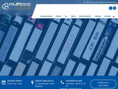 Logistyka, transport, spedycja, magazynowanie - Białystok - Multiccobi