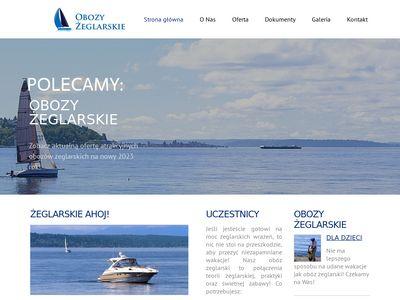 Obozy Żeglarskie - obozy-zeglarskie.org.pl