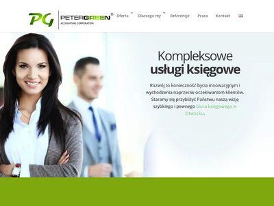 PETER GREEN - biuro rachunkowe, Otwock