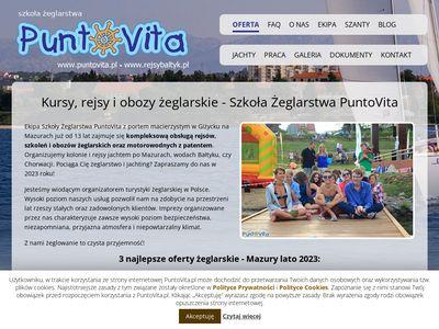 Szkoła żeglarstwa – PuntoVita - www.rejsybaltyk.pl