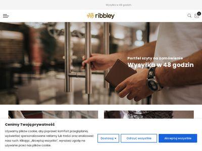 Www.ribbley.pl - Portfel na banknoty