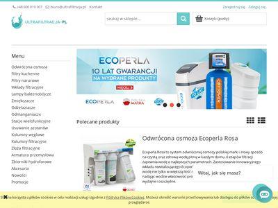 Filtry do wody do domów i przedsiębiorstw
