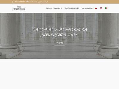Www.wegrzynowski.pl - Doradztwo prawne Bielsko-Biała