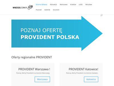 Www.wniosek.com.pl - Provident Poznań