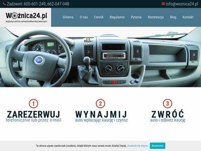 Wypożyczalnia Aut Dostawczych Kraków - woznica24.pl