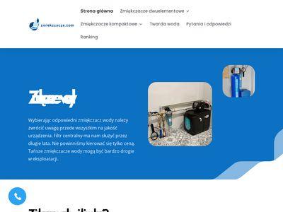 Zmiękczacze wody - zmiekczacze.com