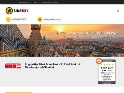 SMARTKEY Aufsperrdienst - Schlüsseldienst Wien