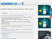 aannemerlier.be