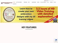 Embroidery Business from Home - Business Model and Digitizing Training Course