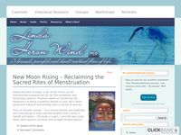 New Moon Rising – Reclaiming the Sacred Rites of Menstruation - Linda Heron-Wind
