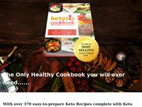 The Ketosis Cookbook  contains Over 370 Amazing, Easy to Make Keto Recipes in 16 Categories -