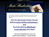 Master Handwriting: Improve Your Handwriting in Minutes!