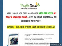 Instagram Auto-Income 2020 (COVID-19 approved!) - Join Now - Make Money - ProfitsGram