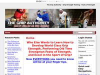 The Grip Authority – Grip Strength Training – Feats of Strength