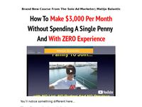 Make $3K Per Month With Selling Thousands Of Clicks With No List, No Budget and No Previous Experience. - The Solo Ad Lifestyle