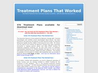 Treatment Plans That Worked - Real-World Treatment Plans that were actually successful... with the data that documents it.